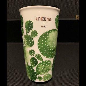 Starbucks Arizona Cactus Ceramic traveler